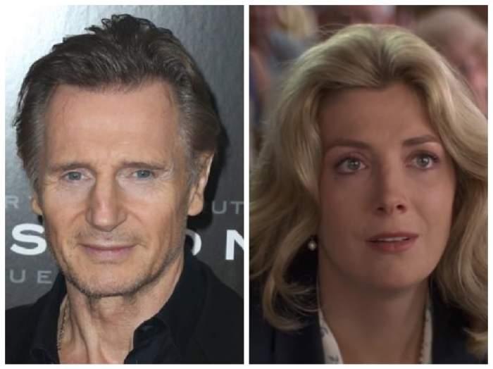 Colaj cu Liam Neeson și Natasha Richardson, fosta lui soție