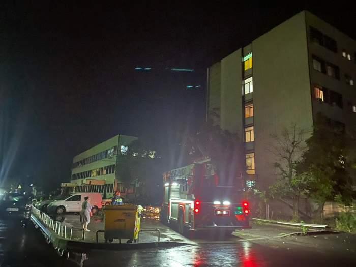 Spitalul Județean Arad după furtună