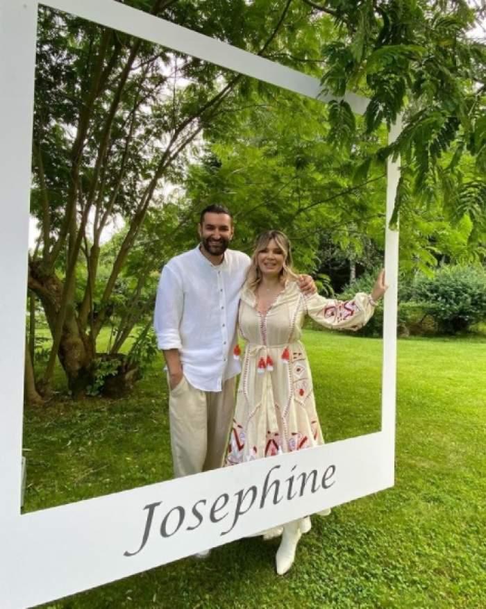 """Ce cadou a primit Josephine de la părinții ei, Smiley și Gina Pistol: """"Ai adus Soarele cu tine"""" / FOTO"""