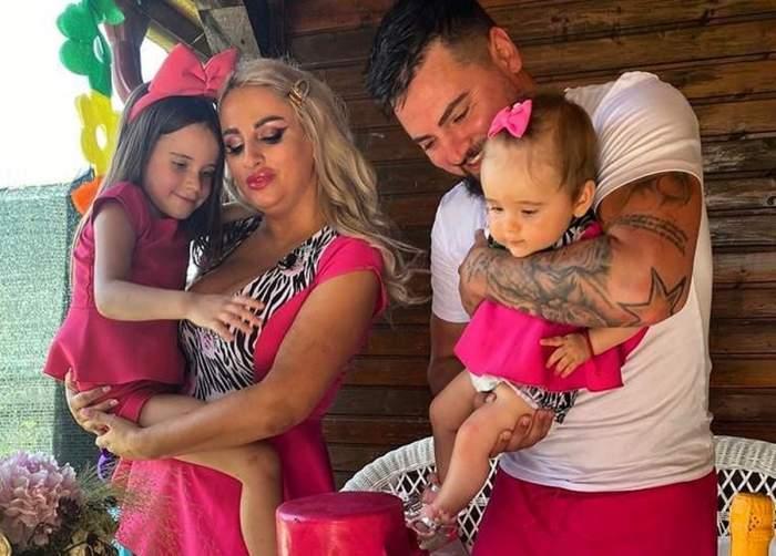 sanziana buruiana cu familia ei