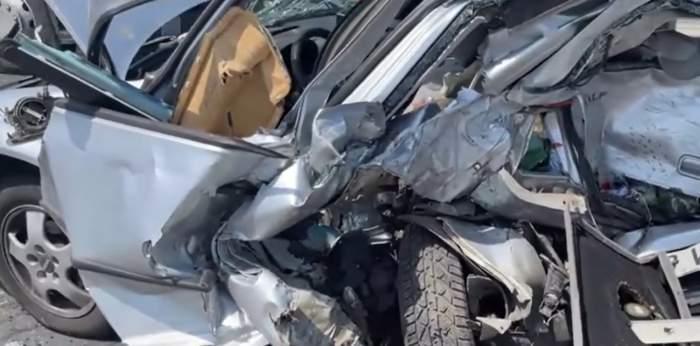 Accident violent în Timișoara. O tânără de 32 de ani a murit, iar alte trei persoane sunt în stare gravă