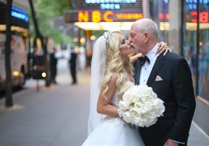 iasmina hill si sotul ei la nunta