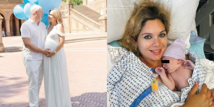 iasmina hill a nascut, colaj cu sotul ei