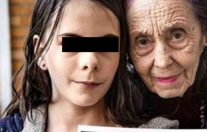 Adriana Iliescu alături de fiica sa, ședință foto.