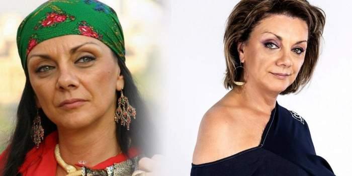 Machetă cu Carmen Tănase/ Carmen Tănase când o interpreta pe Flăcărica.