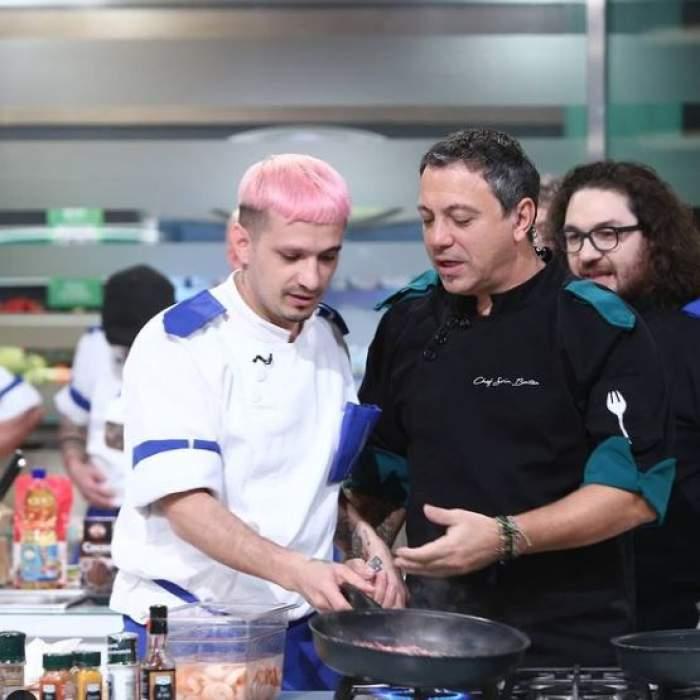 Keed alături de Florin Dumitrescu și Sorin Bontea la Chefi la cuțite.