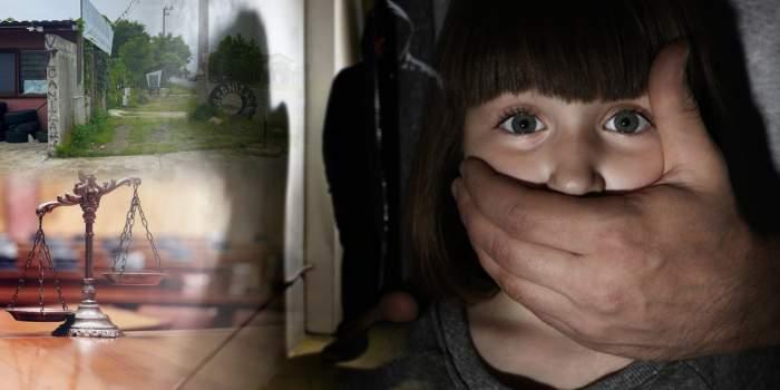 VIDEO EXCLUSIV / Doi pedofili care au încercat să răpească o fetiță de 10 ani de pe stradă, lăsați printre copii! Au încercat să o convingă cu filme XXX