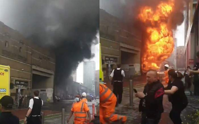 explozie londra metrou