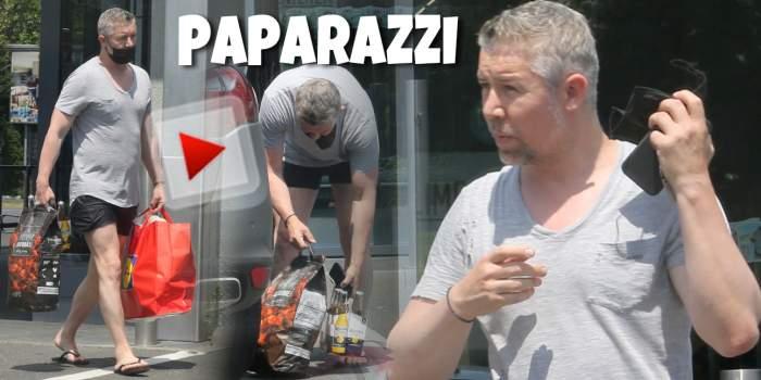 Ce nu face Bogdan Mara pentru un grătar cu prietenii. Fostul fotbalist încalcă legea pentru bere și mici / PAPARAZZI