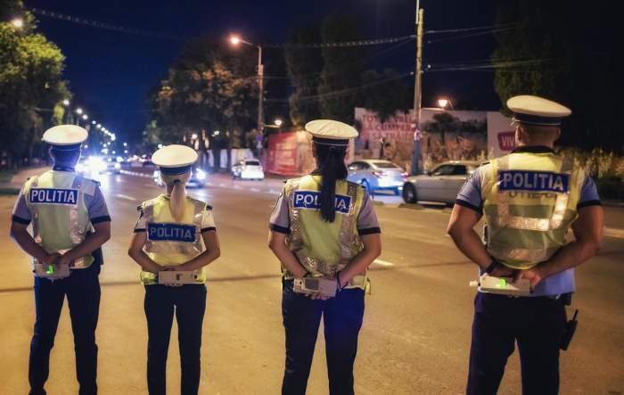 patru polițiști rutieri