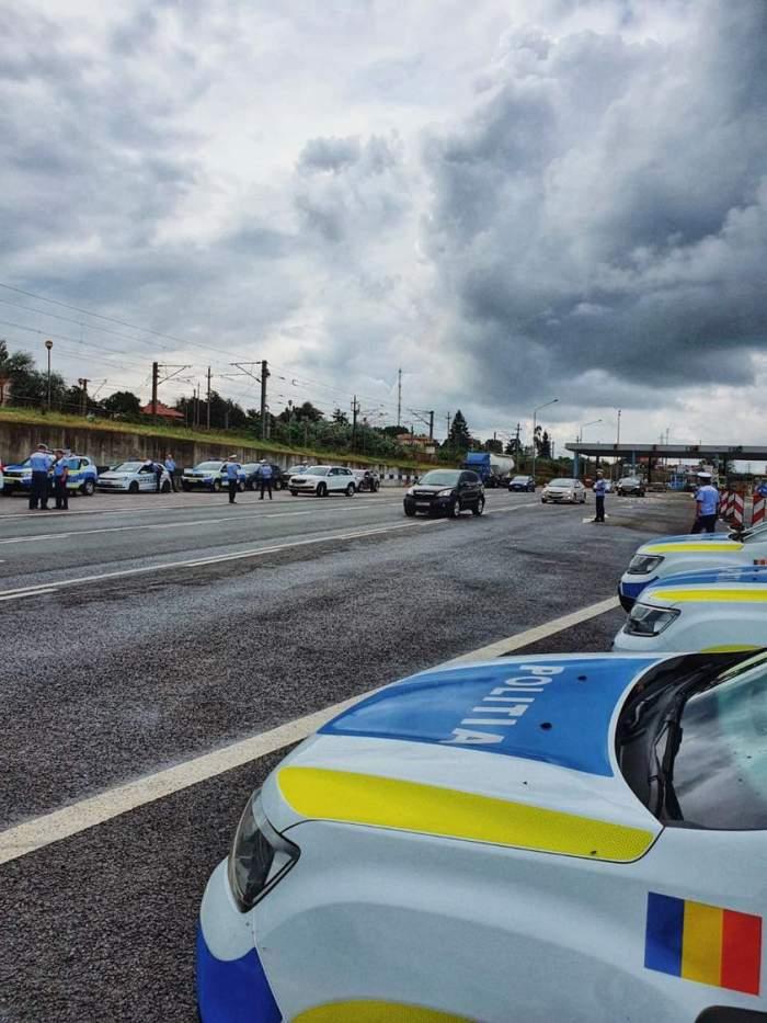 Polițiști, loviți cu mașina de un șofer beat din Vaslui. Agenții au ajuns la spital