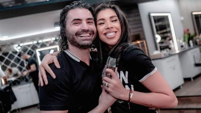 Pepe și Raluca în perioada în care formau un cuplu, ședință foto.