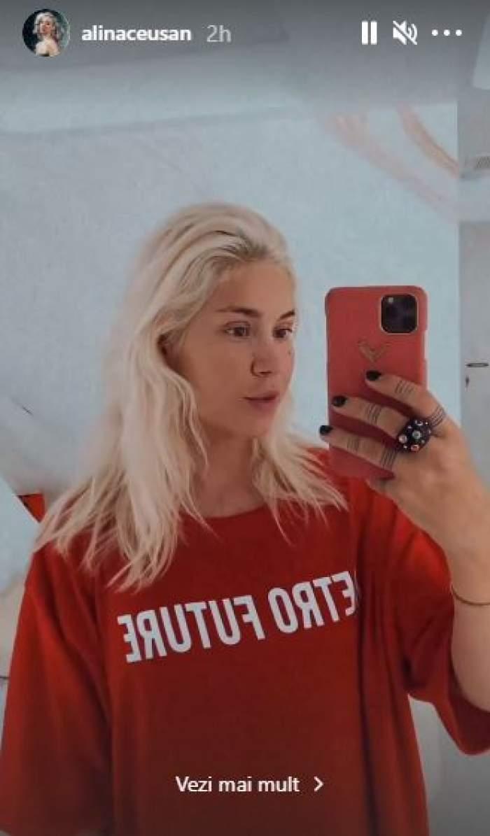 """Alina Ceușan și-a pus silicoane! Primele imagini cu noul bust al vloggeriței: """"Rezultatul este uimitor"""" / FOTO"""