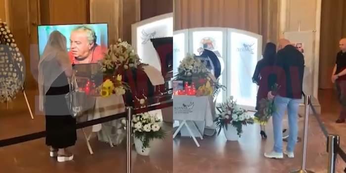 Colegii de breaslă, ultim omagiu pentru Florin Condurățeanu. Rând pe rând sosesc la Casa Presei cu coroane de flori / VIDEO