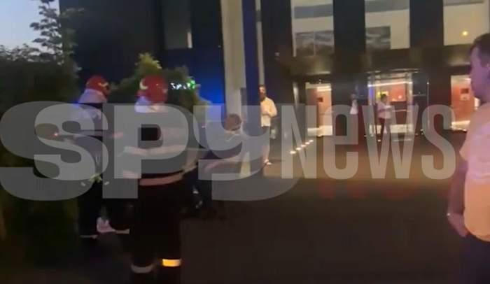 Alin Petrache, implicat într-un grav accident rutier, în București. S-a intervenit de urgență la fața locului / VIDEO