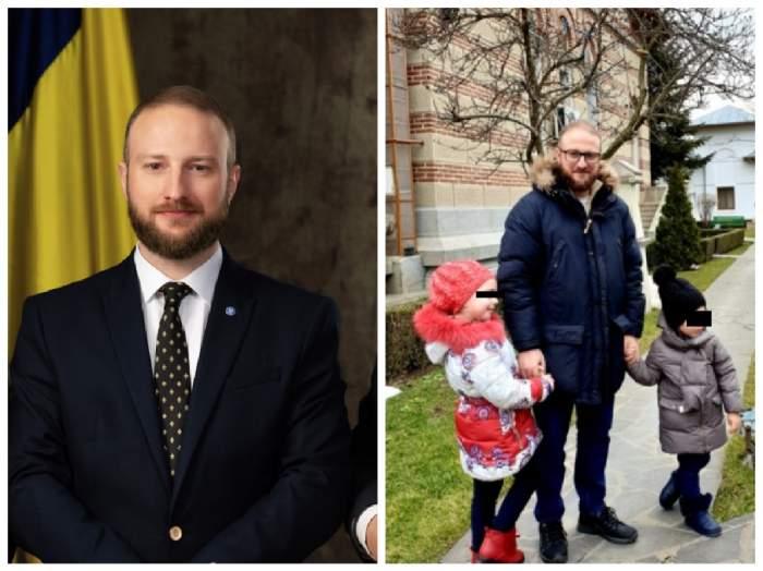 Colaj cu Andrei Tinu și copiii săi