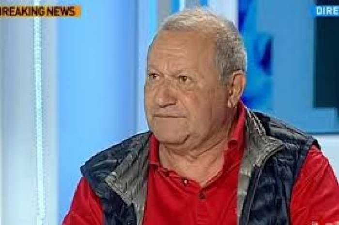 Cristian Țânțăreanu în timpul unei emisiuni TV.