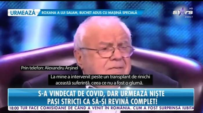 Alexandru Arșinel, la Antena Stars