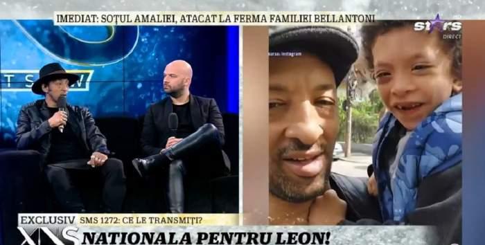 """Fiul lui Kamara are nevoie de o nouă intervenție. Cum s-a îmbolnăvit Leon, deși s-a născut normal: """"Există riscul să i se strâmbe oasele"""" / VIDEO"""