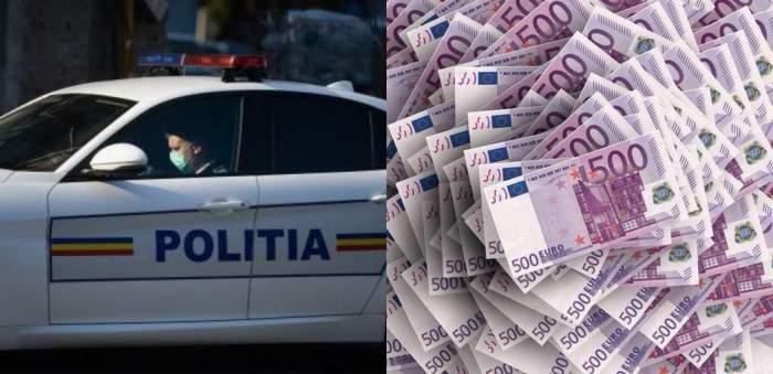 Cine este și cu ce se ocupă tânărul care a fost prins cu o sacoșă de rafie cu 320.000 de euro. Ce au descoperit polițiștii