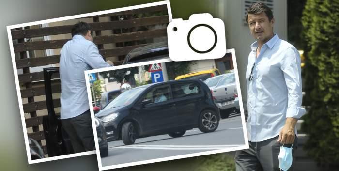 Iulian Miu nu a auzit deregulile de circulație! Fostul fotbalist a încălcat legea de mai multe ori, într-o singură zi / PAPARAZZI