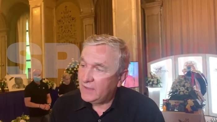 captură videou din interviul cu Mircea Beuran