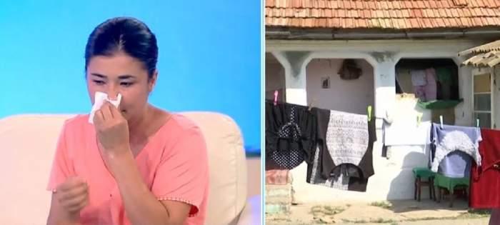 """Acces Direct. Tânără mamă alungată de acasă cu fetițele ei de către concubin? Georgiana ar fi fost amenințată cu moartea: """"Am ajuns pe străzi"""" / VIDEO"""