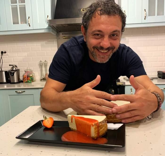 Rețeta de cheesecake a lui Sorin Bontea. Cum poți să îți surprinzi familia