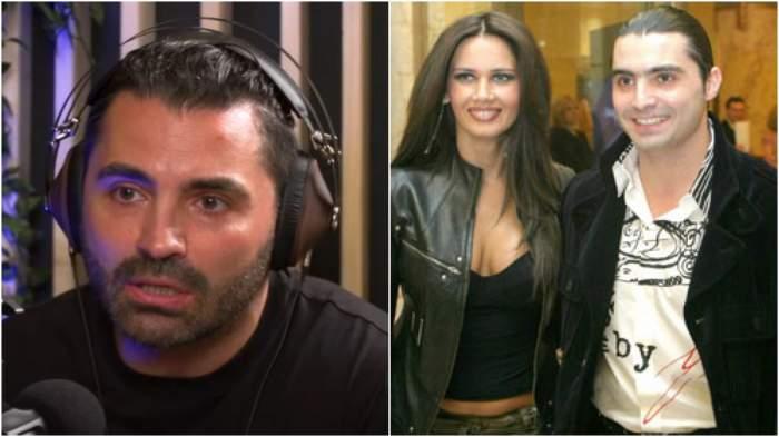 Colaj cu Pepe în timpul unui interviu/ Oana Zăvoranu și Pepe în perioada în care formau un cuplu.