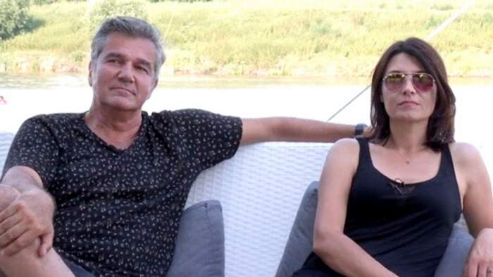Liliana Ștefan și Dan Bittman în perioaa în care formau un cuplu.