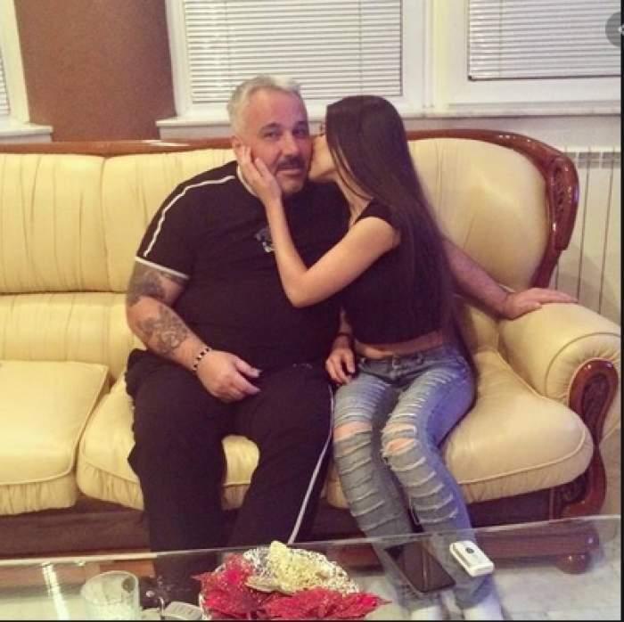 """Rebeca, fiica lui Sile Cămătaru, umilită pe Internet după ce a postat un videoclip emoționant cu tatăl ei. """"Te mândrești că a distrus o grămadă de vieți?"""" / FOTO"""