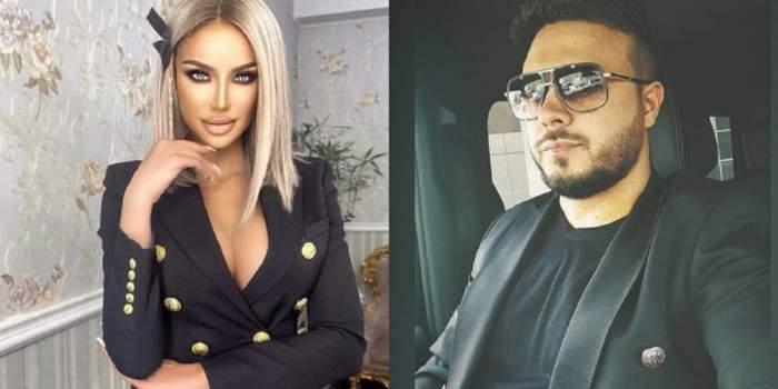 Un colaj cu Bianca Drăgușanu și Gabi Bădălău. Ea poartă un sacou negru cu nasturi aurii, iar el e în mașină și e îmbrăcat cu sacou și tricou negru.