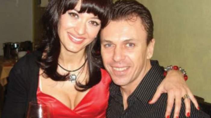 Anca Țurcașiu alături de Cristian Georgescu când erau împreună.