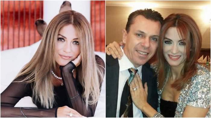 Colaj cu Anca Țurcașiu, ședință foto/ Anca Țurcașiu și Cristian Georgescu când formau un cuplu.