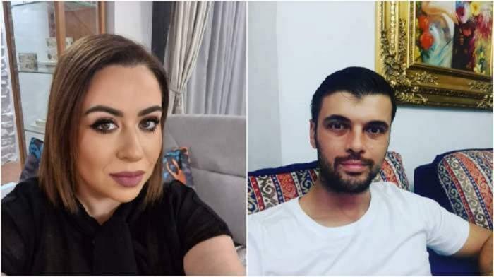 Un colaj cu Oana Roman și Marius Elisei. Amândoi își face selfiuri. Ea poartă tricou negru și el unul alb.
