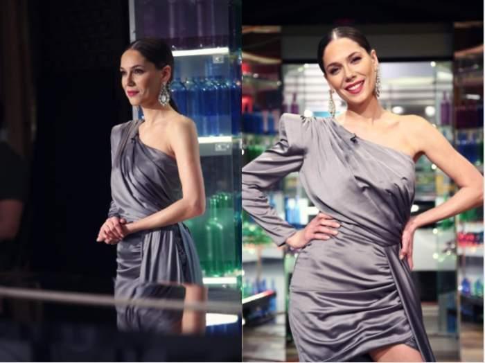 """Irina Fodor l-a surprins pe Florin Dumitrescu cu ținuta ei, la Chefi la Cuțite: """"Apreciez foarte mult culoarea rochiței tale"""" / VIDEO"""