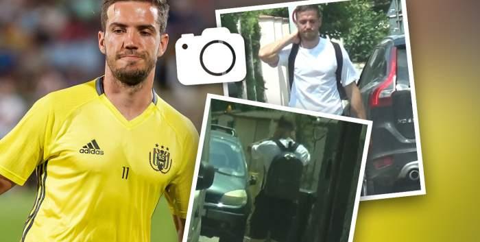 Alexandru Chipciu, prins în ofsaid în plină zi. Fotbalistul nu a mai ținut cont că este pe stradă și a făcut un gest rușinos. Cum a fost surprins sportivul / PAPARAZZI