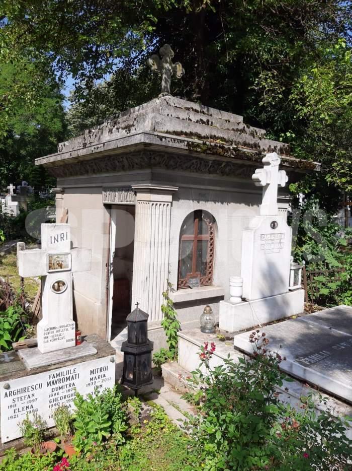 Cum arată locul unde va fi înmormântat Florin Condurățeanu! Marele jurnalist, condus astăzi pe ultimul drum