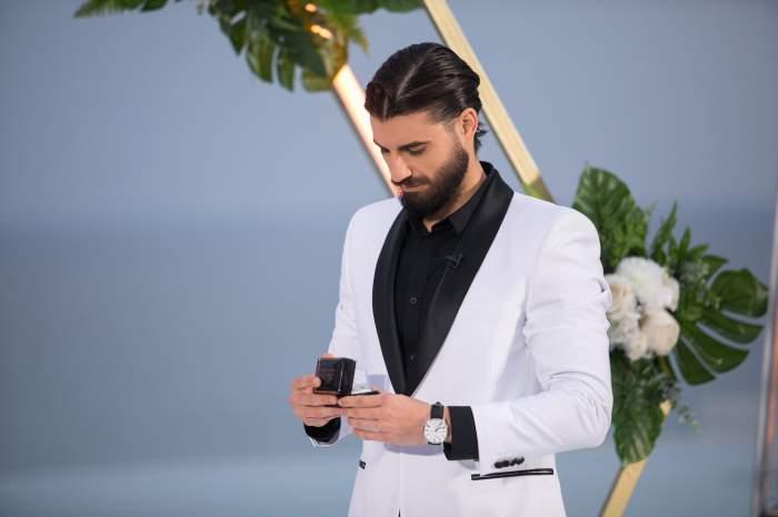 """""""Sper să rămânem împreună tineri şi frumoşi"""". Andi Constantin, declarație pentru viitoarea soție, înainte de finala Burlacul"""