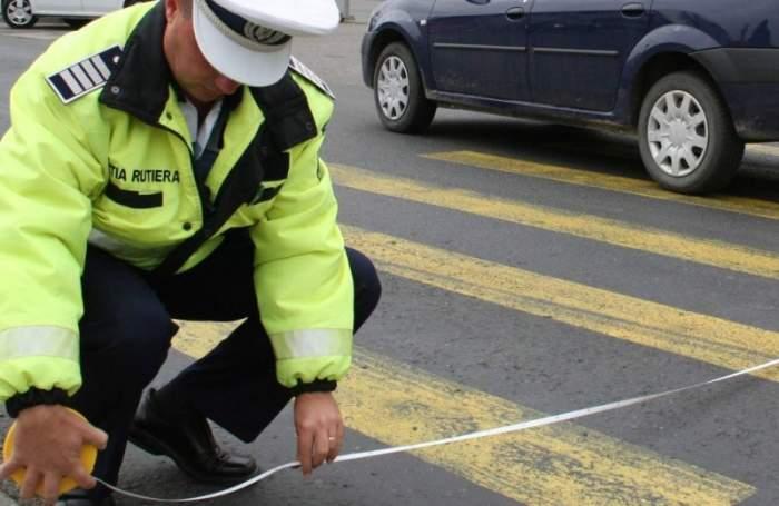 Accident mortal în Iași. Un bătrân în vârstă de 84 de ani a fost spulberat de o mașină în timp ce traversa trecerea de pietoni