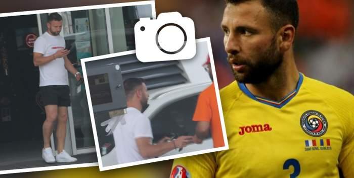 """Razvan Raț a uitat de mască, dar nu și de """"recompensa"""" angajaților. Fostul fotbalist știe cum să întoarcă favorul / PAPARAZZI"""
