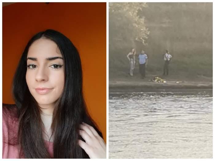 fata înecată și momentul în care a fost găsită