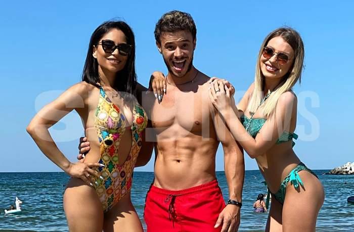 Imagini senzaționale cu prezentatorii Antena Stars, la malul mării. Cum arată Ameri Nasrin, Dima Trofim și Olga Delia în costume de baie
