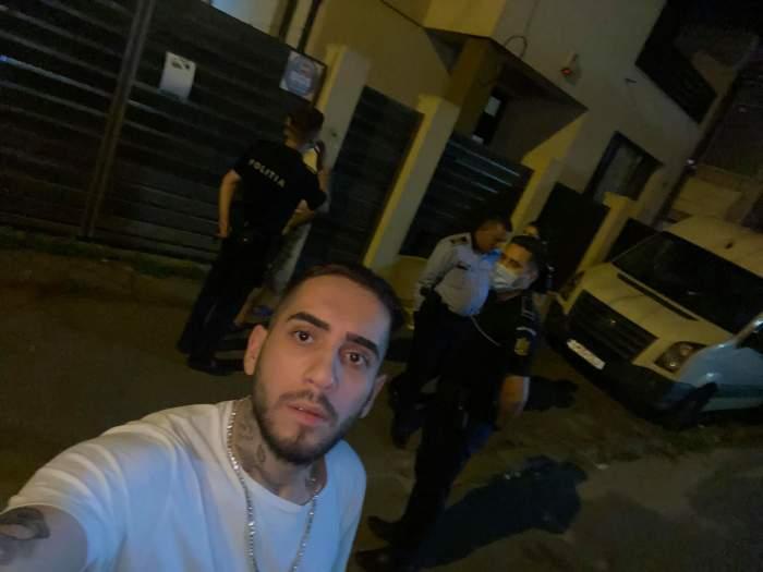 Fulgy a fost arestat după ce a lovit cu pumnul un jurnalist şi i-a furat telefonul mobil. Ce se întâmplă acum cu fiul Clejanilor