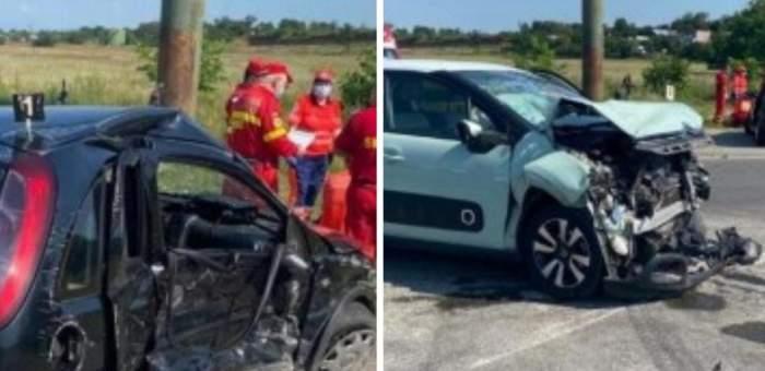 Accident mortal în Prahova! O femeie și-a pierdut viața, iar alte patru persoane sunt în stare gravă la spital