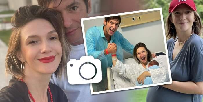 adela popescu la spital nascut