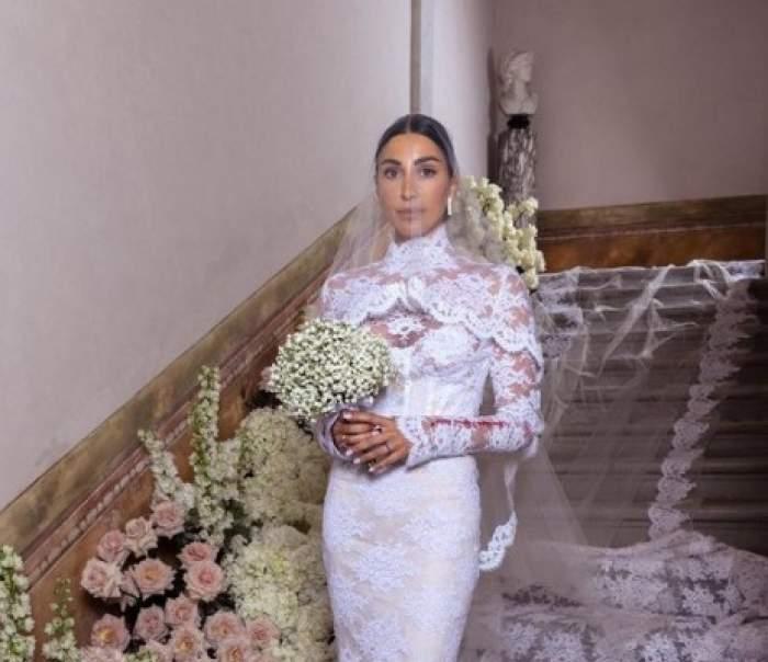 Fosta lui Gianluca Vacchi s-a căsătorit! Giorgia Gabriele a devenit soția unui antreprenor celebru din Italia / FOTO