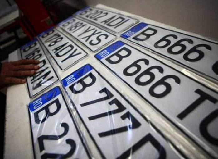 Mai multe numere de mașini