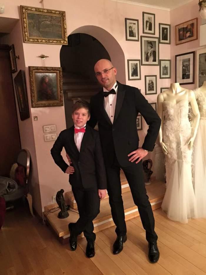 Cum arată Albert, fiul regretatului Adrian Iovan, la 14 ani. Adolescentul este pilot de raliu