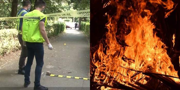 crima timisoara, imagine foc